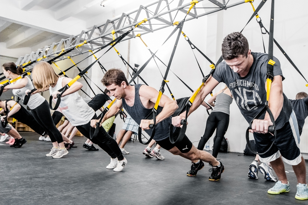 T.R.X <small>suspension training</small>