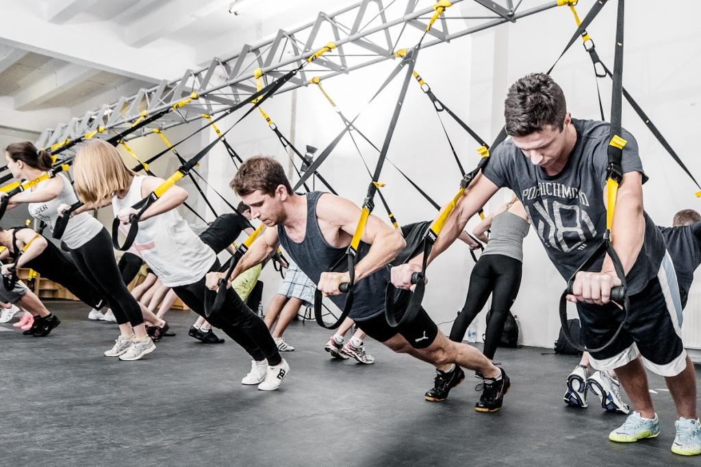 T.R.X <small>suspension training</small>